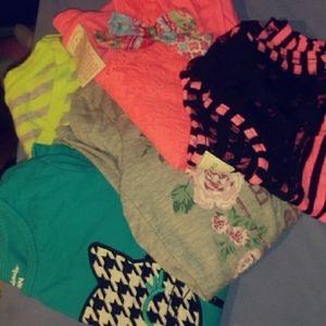 Little Girl Shirts & Pants .